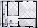 Layout planning of a Versailles parquet floor