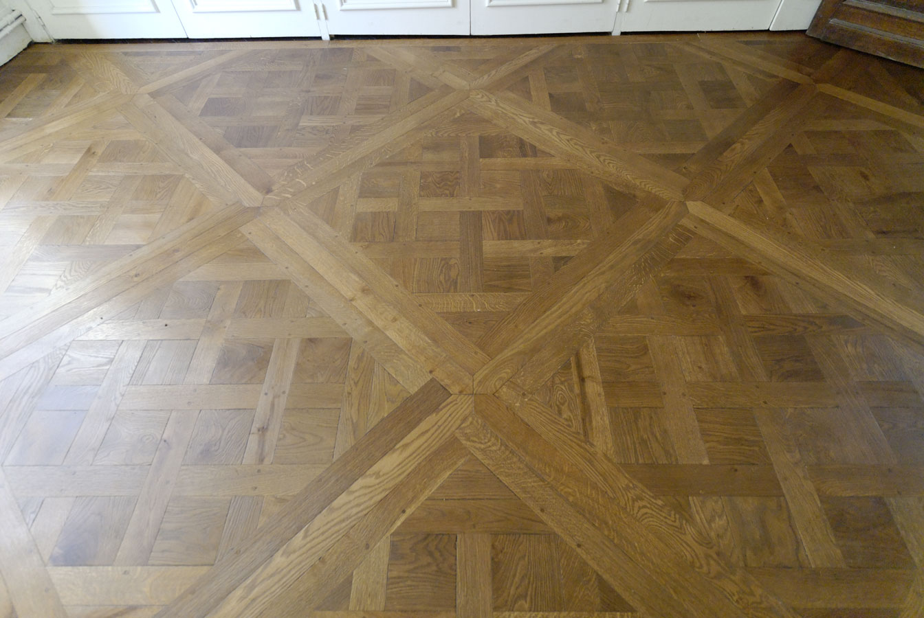 parquet floor versailles with shuttles parquets de tradition 10. Black Bedroom Furniture Sets. Home Design Ideas