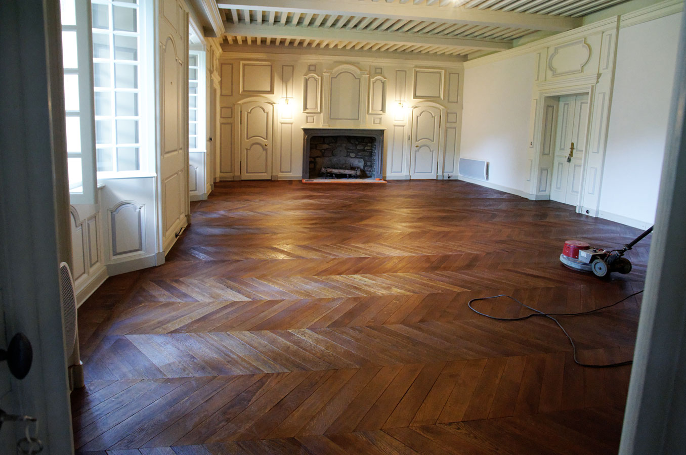 changer parquet ancien excellent nice peindre un parquet. Black Bedroom Furniture Sets. Home Design Ideas