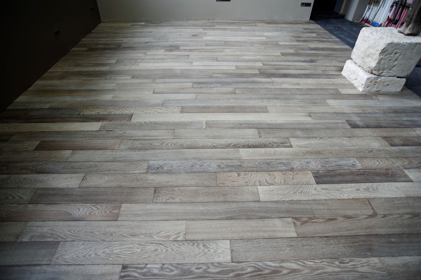 Solid Oak Parquet Flooring Gray Parquets De Tradition 158