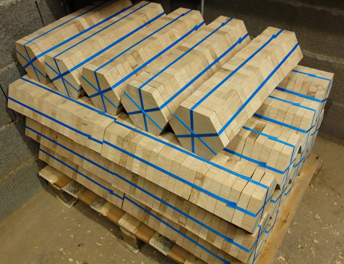 Hexagonal Parquet Floor Ready To Ship Parquets De