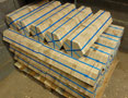 Hexagonal parquet floor ready to ship
