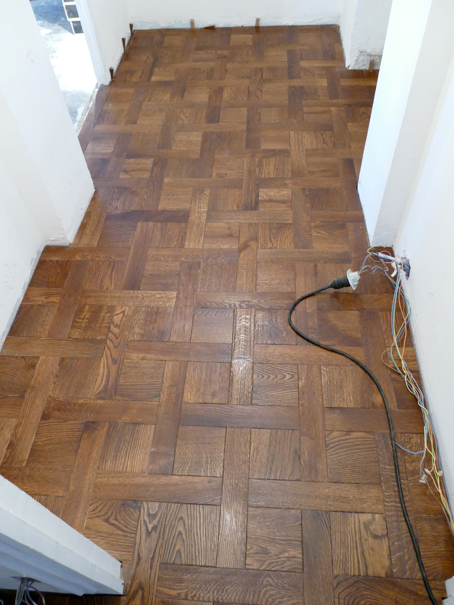 Parquet floorChantilly
